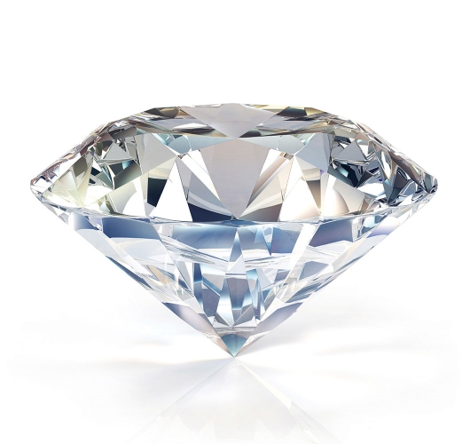 Ein Diamant im Brillant-Schliff - Jetzt bei Juwelier Fridrich in München