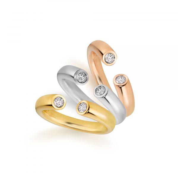 "Roségold Ring ""Toro II"""