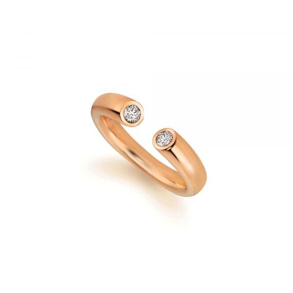 """Roségold Ring """"Toro II"""" von Atelier Fridrich bei Juwelier Fridrich in München"""