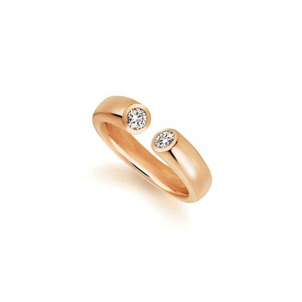 """Roségold Ring """"Toro"""" von Atelier Fridrich bei Juwelier Fridrich in München"""