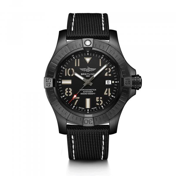 Avenger Automatic 45 Seawolf Night Mission von Breitling bei Juwelier Fridrich in München
