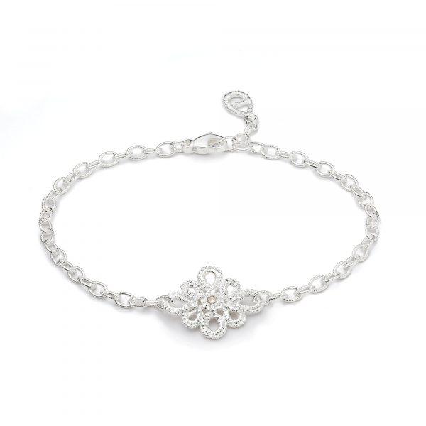 """Silber Armband """"Miss Medea"""" von Brigitte Adolph bei Juwelier Fridrich in München"""