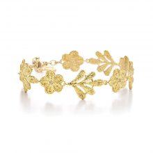 """Gelbgold Armband """"Lady Hamilton"""" von Brigitte Adolph bei Juwelier Fridrich in München"""