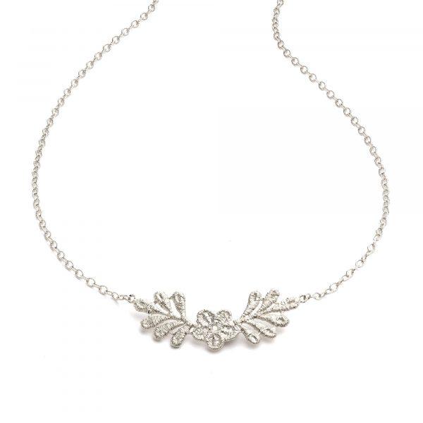 """Silber Collier """"Lady Hamilton"""" von Brigitte Adolph bei Juwelier Fridrich in München"""