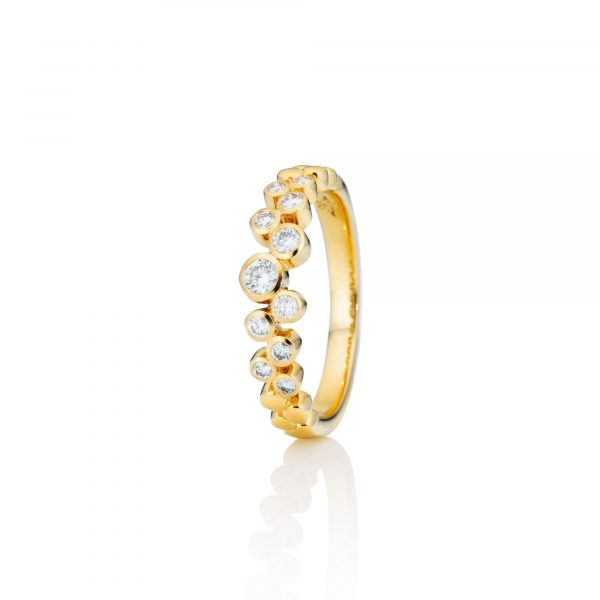 Gelbgold Ring mit Brillanten von Capolavoro bei Juwelier Fridrich in München