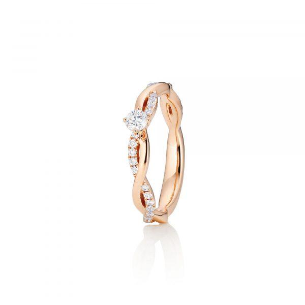 Roségold Ring mit Brillanten von Capolavoro bei Juwelier Fridrich in München