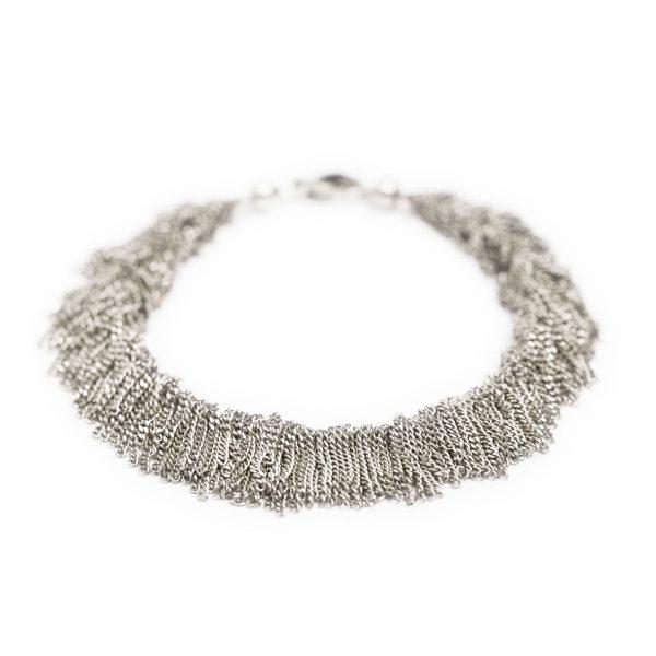 """Silber Armband """"SIARA"""" von Claudia Milic bei Juwelier Fridrich in München"""