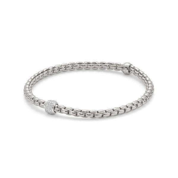 Eka Tiny Flex'it Armband mit Diamanten von FOPE bei Juwelier Fridrich in München