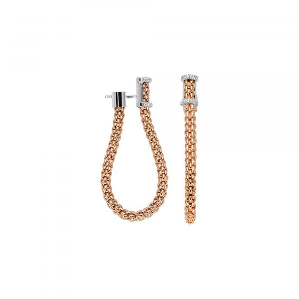 Essentials Flex'it Ohrhänger mit Diamanten von FOPE bei Juwelier Fridrich in München