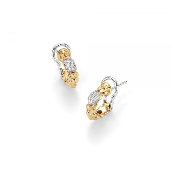 Eka Tiny Creolen mit Diamanten von FOPE bei Juwelier Fridrich in München