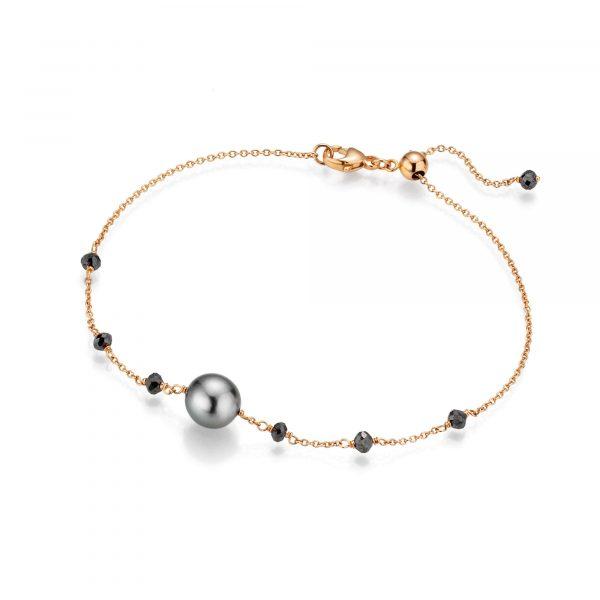 Roségold Armband mit Perle und Diamanten von Gellner bei Juwelier Fridrich in München