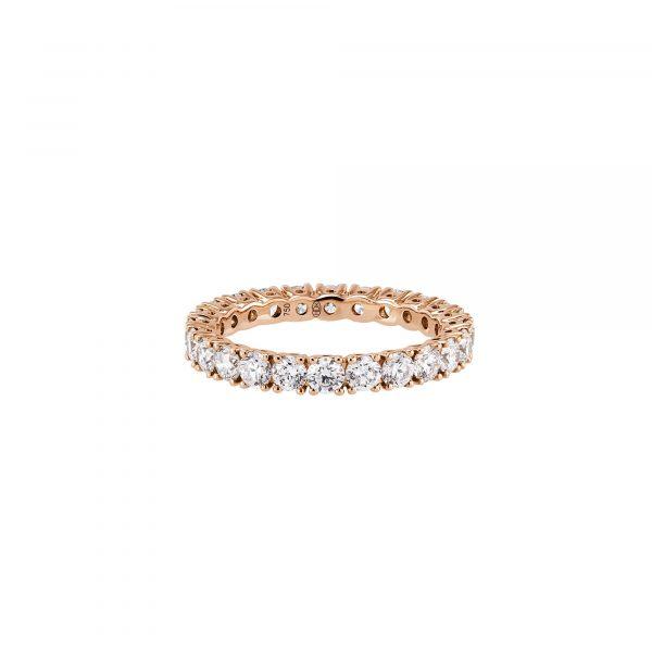 Roségold Ring mit Brillanten von Hans D. Krieger bei Juwelier Fridrich in München