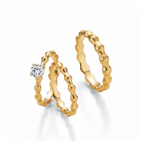 "Gelbgold Ring ""Floow"""