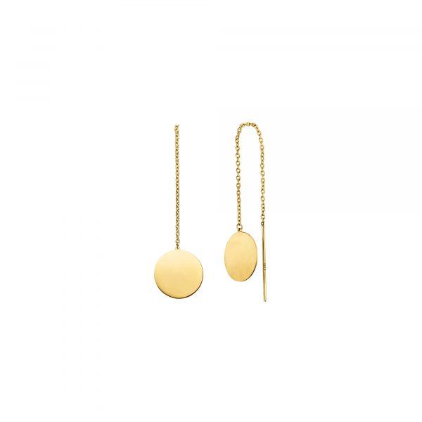 Gelbgold Ohrhänger von Kollektion Fridrich bei Juwelier Fridrich in München