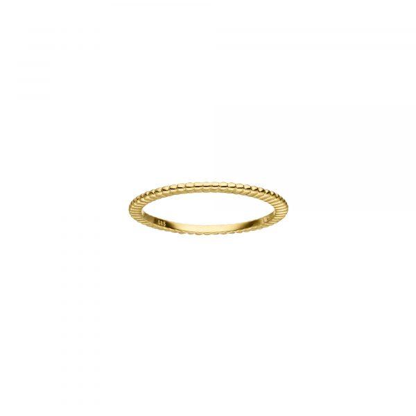 Gelbgold Ring von Kollektion Fridrich bei Juwelier Fridrich in München