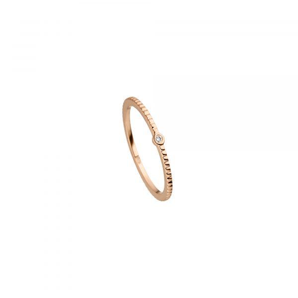 Roségold Ring mit Brillant von Kollektion Fridrich bei Juwelier Fridrich in München