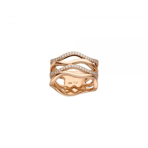 Roségold Ring mit Brillanten von Kollektion Fridrich bei Juwelier Fridrich in München