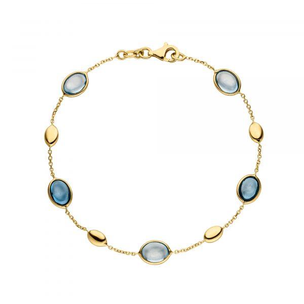 Gelbgold Armband mit Topas von Kollektion Fridrich bei Juwelier Fridrich in München