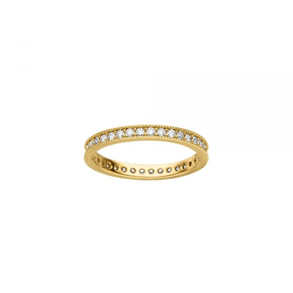 Gelbgold Ring mit Brillanten von Kollektion Fridrich bei Juwelier Fridrich in München