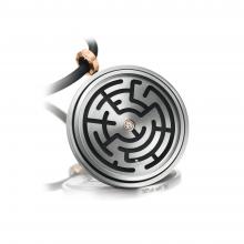Amulett-Anhänger Labyrinth von Meister bei Juwelier Fridrich in München