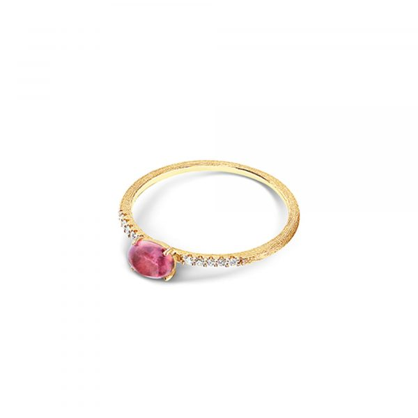 Gelbgold Ring mit Turmalin