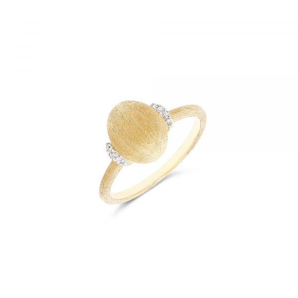 Gelbgold Ring mit Brillanten von Nanis bei Juwelier Fridrich in München