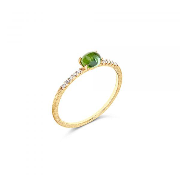 Gelbgold Ring mit Turmalin von Nanis bei Juwelier Fridrich in München