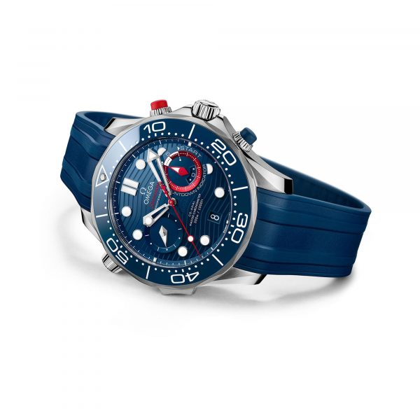 """Diver 300M CoAxial Master Chronometer Chronograph 44 MM """"America's Cup"""""""