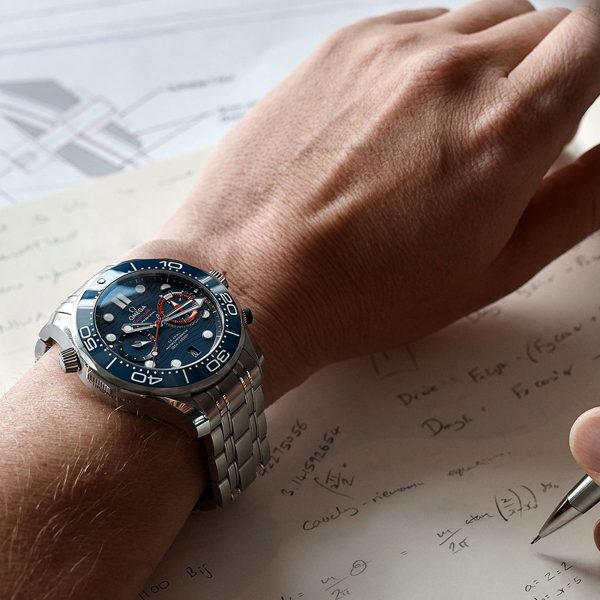 """Omega Diver 300M CoAxial Master Chronometer Chronograph 44 MM """"America's Cup"""" bei Juwelier Fridrich in München"""