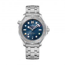 """Seamaster Diver 300M Co-Axial Master Chronometer 42 mm """"Beijing 2022"""" von Omega bei Juwelier Fridrich in München"""