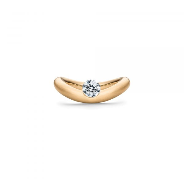 Gelbgold La Luna Solitär Ring von Schaffrath bei Juwelier Fridrich in München