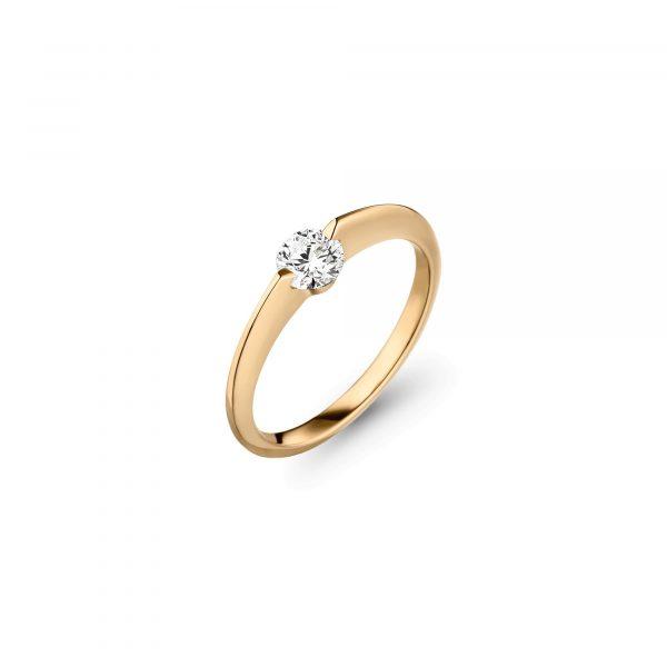 Gelbgold LIBERTÉ Brillant Ring von Schaffrath bei Juwelier Fridrich in München