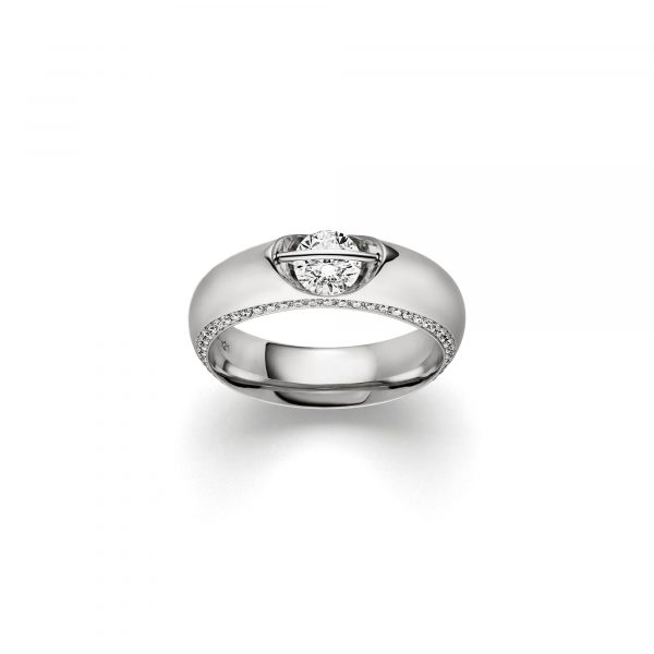 Weißgold LIBERTÉ Brillant Ring