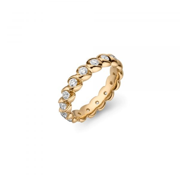 Gelbgold CALLA Memoire Ring von Schaffrath bei Juwelier Fridrich in München