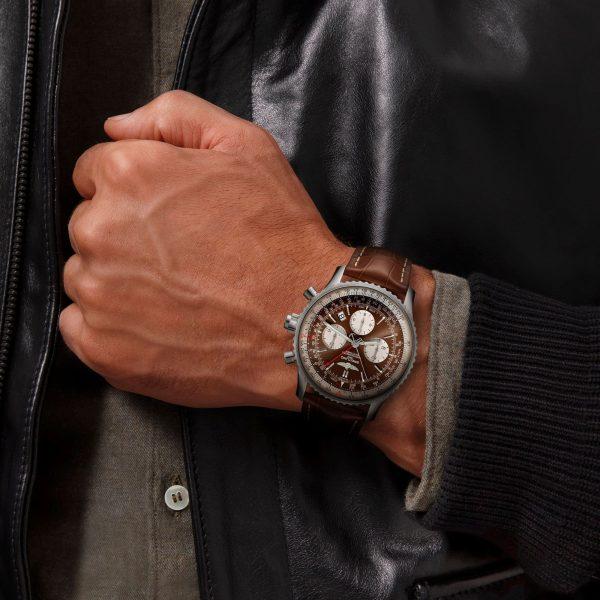 Breitling Navitimer B03 Chronograph Rattrapante 45 bei Juwelier Fridrich in München